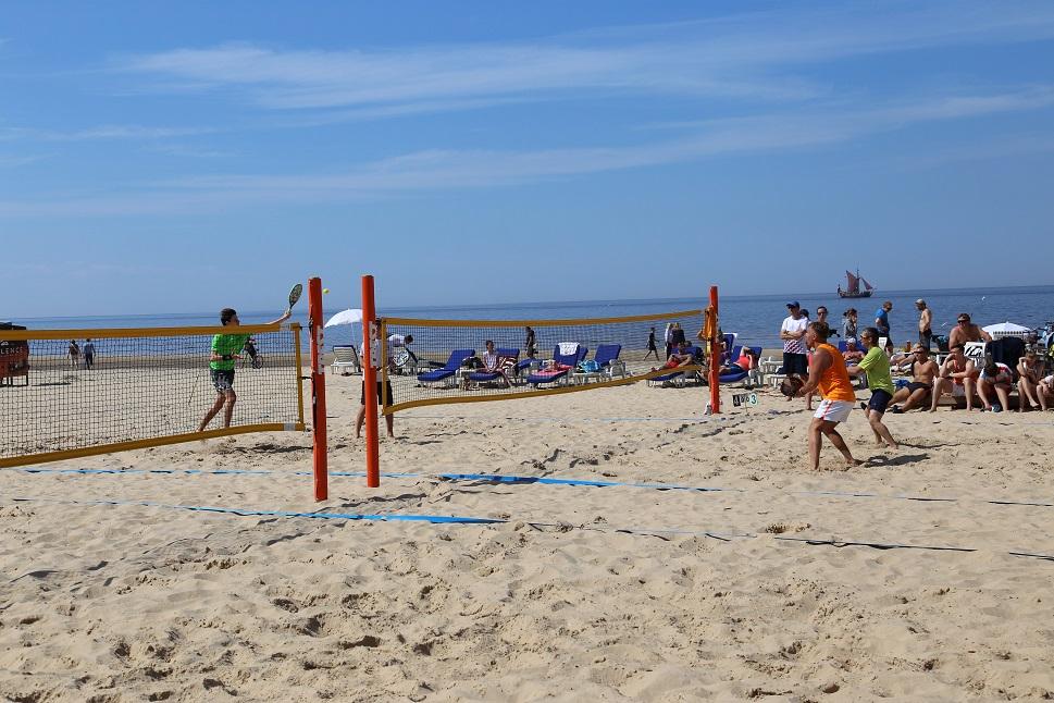 Latvijas pludmales tenisa līgas turnīra 1.posms